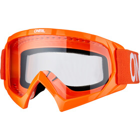 O'Neal B-10 Gafas Niños, solid orange/white